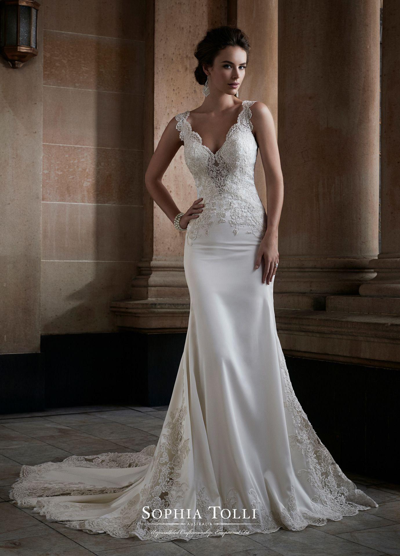 Sophia Tolli #Y21749 Adhara   Sophia Tolli Wedding Dresses ...