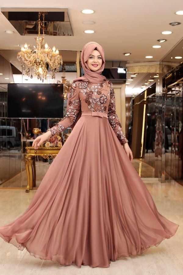 Pınar Şems Melike abiye | dress | Pinterest | Muslim, Muslim women ...