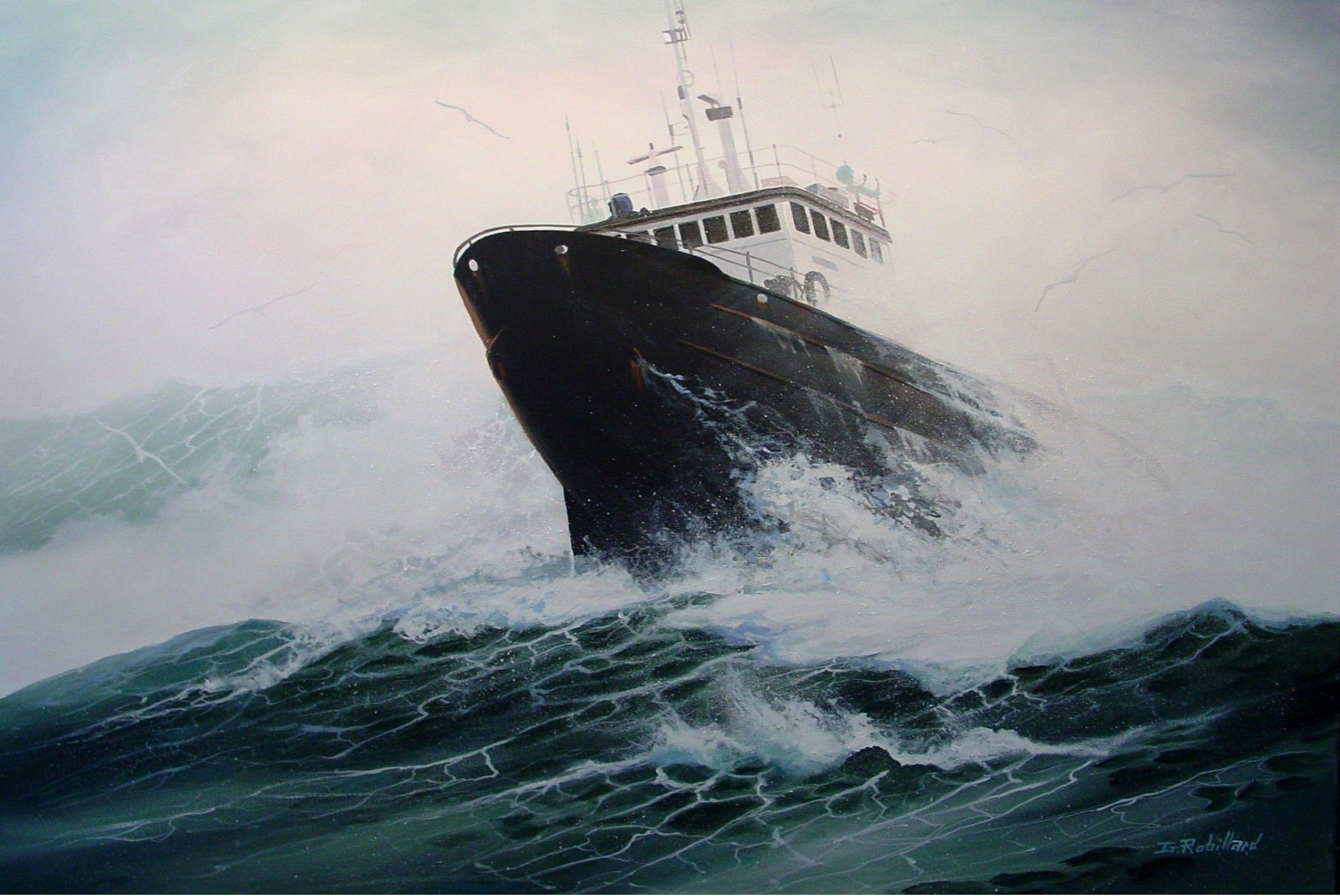 ship in rough sea - Google Search | Riders on the storm ...