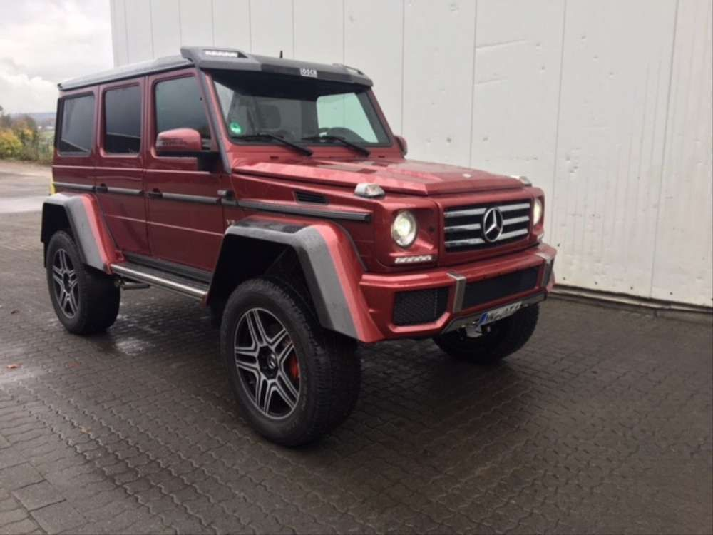 2016 Mercedes Benz G 500 4x4 Off Road Top Condition Red Tags