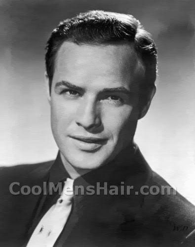 Photo Of Marlon Brando Short Classic Hairstyle For Men Evans