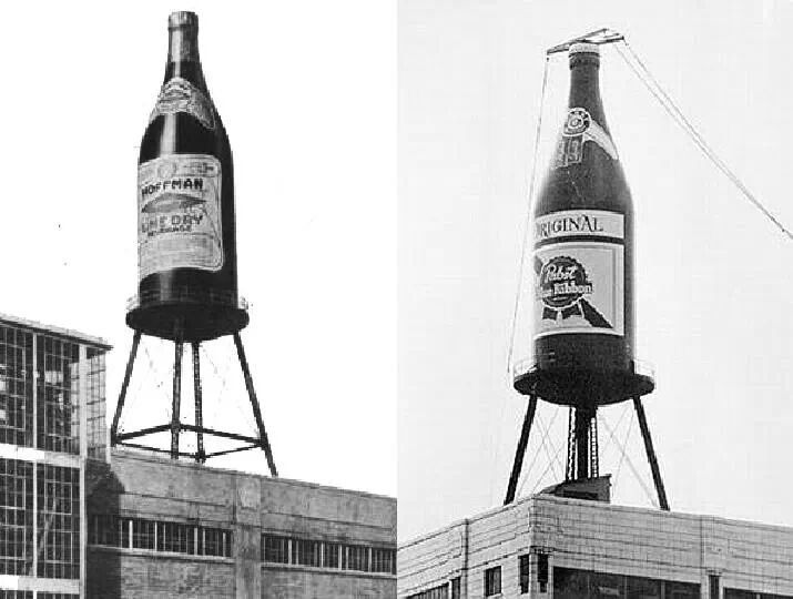 garden state parkway sign coloring pages | Hoffman Soda then Pabst Beer. Newark NJ along GSP on So ...