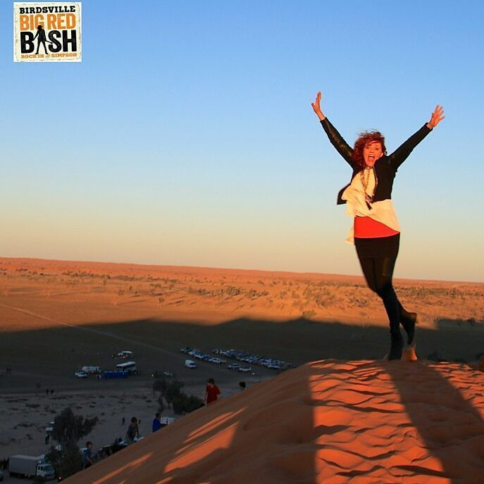 The Birdsville Big Red Bash is 3 days and nights of music with iconic #australian artists set in an iconic location on the edge of the Simpson Desert. The stage backdrop is #bigred and for all you #outback travellers it doesn't get any better than this.  It's on 4-6th July 2016 at Big Red just outside #birdsville QLD.  If you want to rock the #simpsondesert then you'd better book soon. Camping is provided onsite and you can get more details on the Big Red Bash Facebook site.  We will both be…