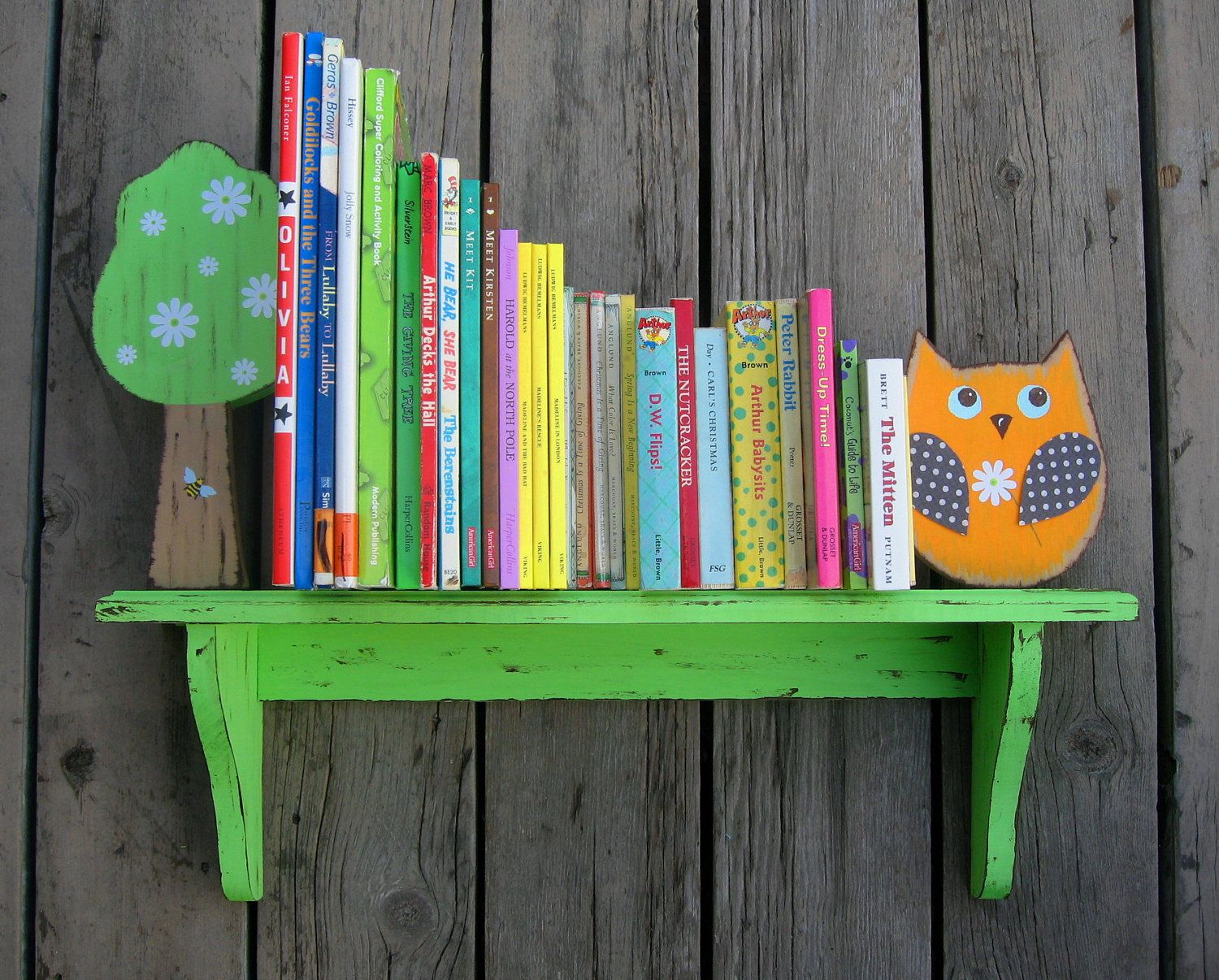 Brooke Owl Book Shelf Pottery Barn Kids Inspired By