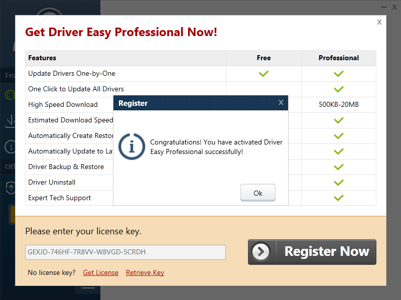 driver easy free license key in 2019 | Professional ...