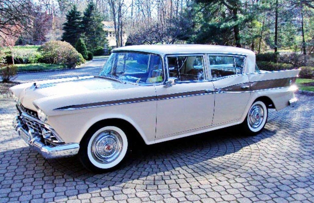 1959 Rambler Custom Six Classic Cars Usa Vintage Muscle Cars Cars Usa