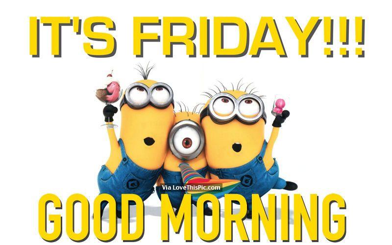 Its Friday Good Morning Good Morning Team Its Friday Quotes Friday Quotes Funny