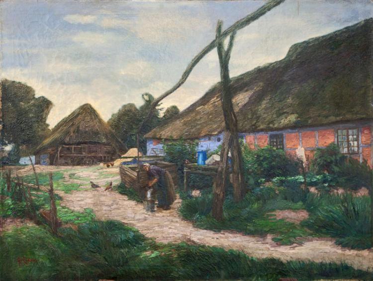 Elisabeth von Eicken  Mühlheim/Ruhr 1862 - Potsdam 1940  At the Well