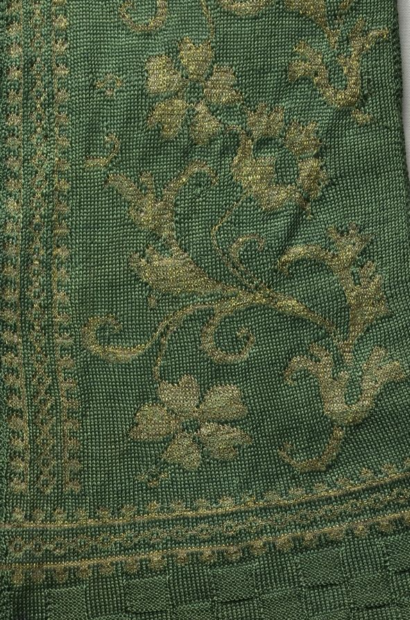 17th c., Detail, Italian Knit Jacket | Cleveland Museum of Art