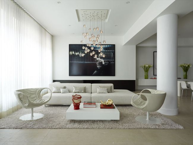 Super Stylish Interior Design For A Flat Apartment Interior