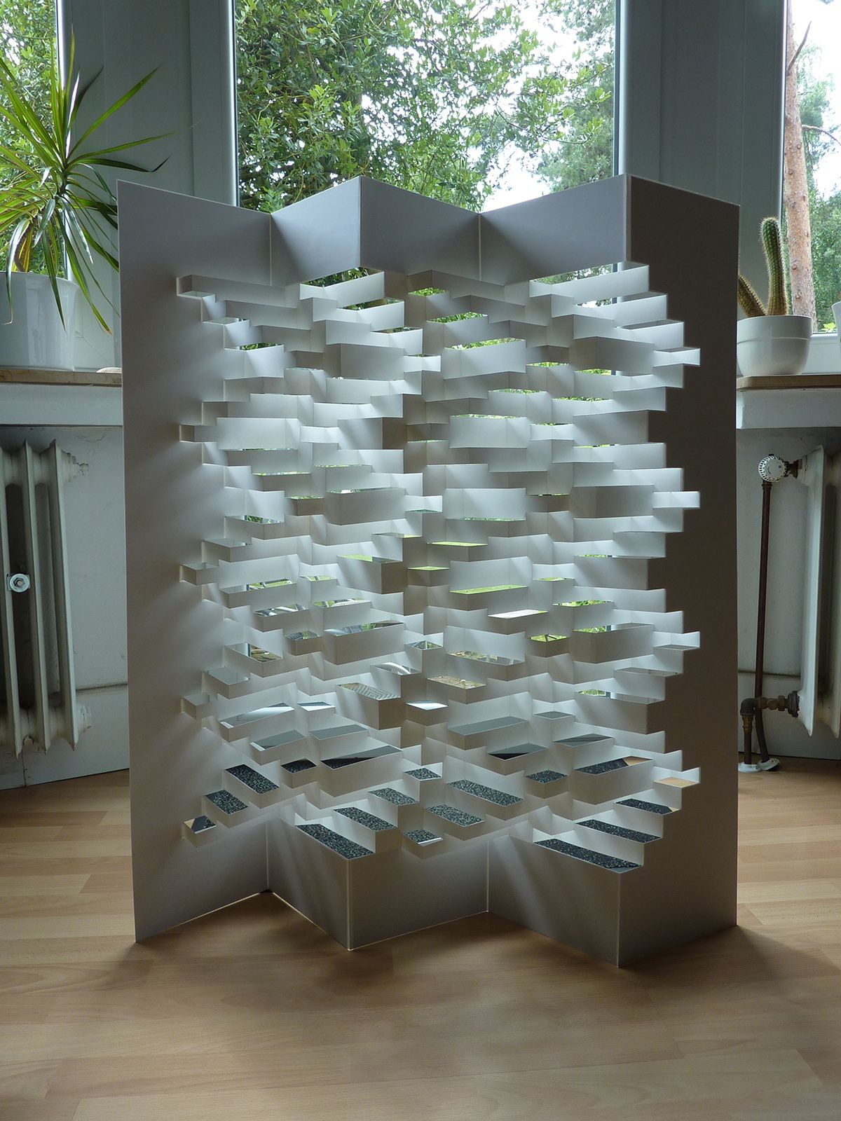 3D Papierstruktur – Peter Dahmen   folding   Pinterest