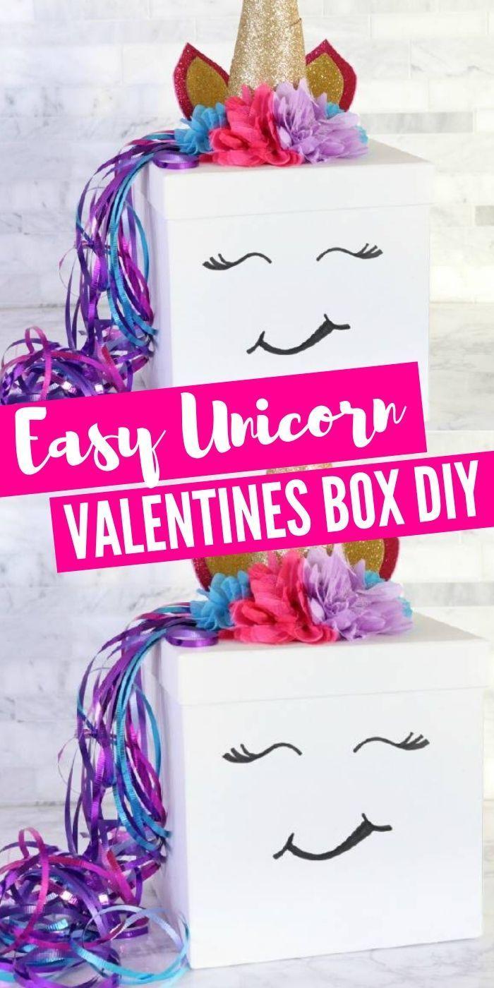 Valentine boxes for school - Girls valentines boxes - Valentine card box - Valentine day boxes -