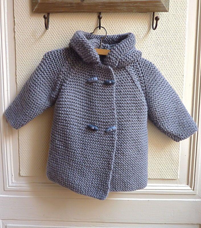 tricot modele bebe