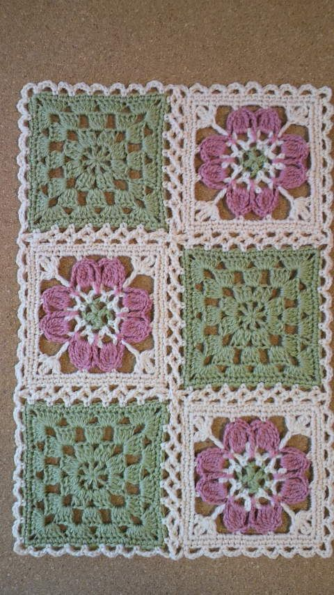 Bild von Felissimo Kaleidoskop Motiv DN11 Teil 1 | –   – crochet blanket