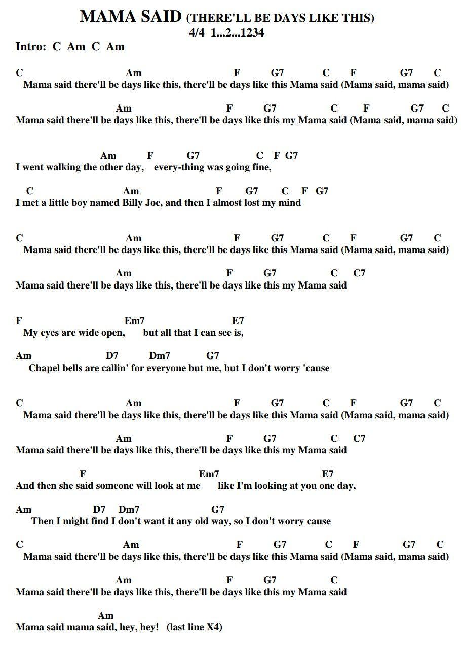 Mama Said The Shirelles Doctoruke Com Ukulele Chords Songs Ukulele Chords Music Theory