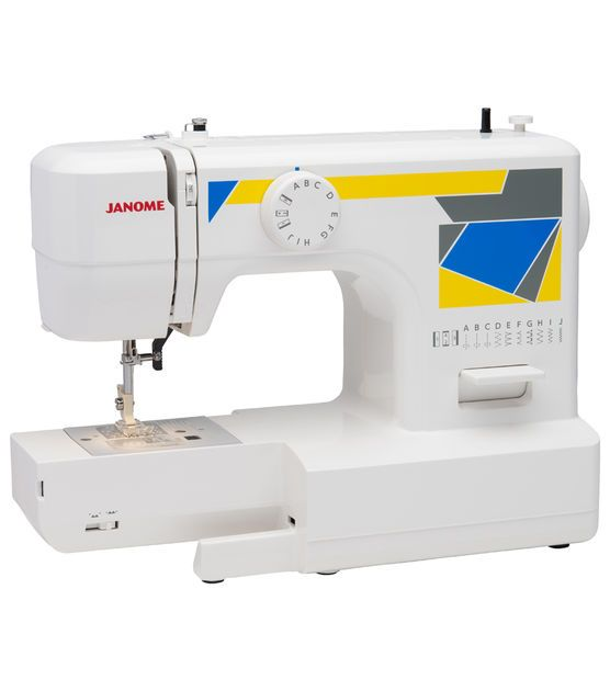 Janome Mod 40 Easy To Use Sewing Machine Janome Classy Easy To Use Sewing Machines