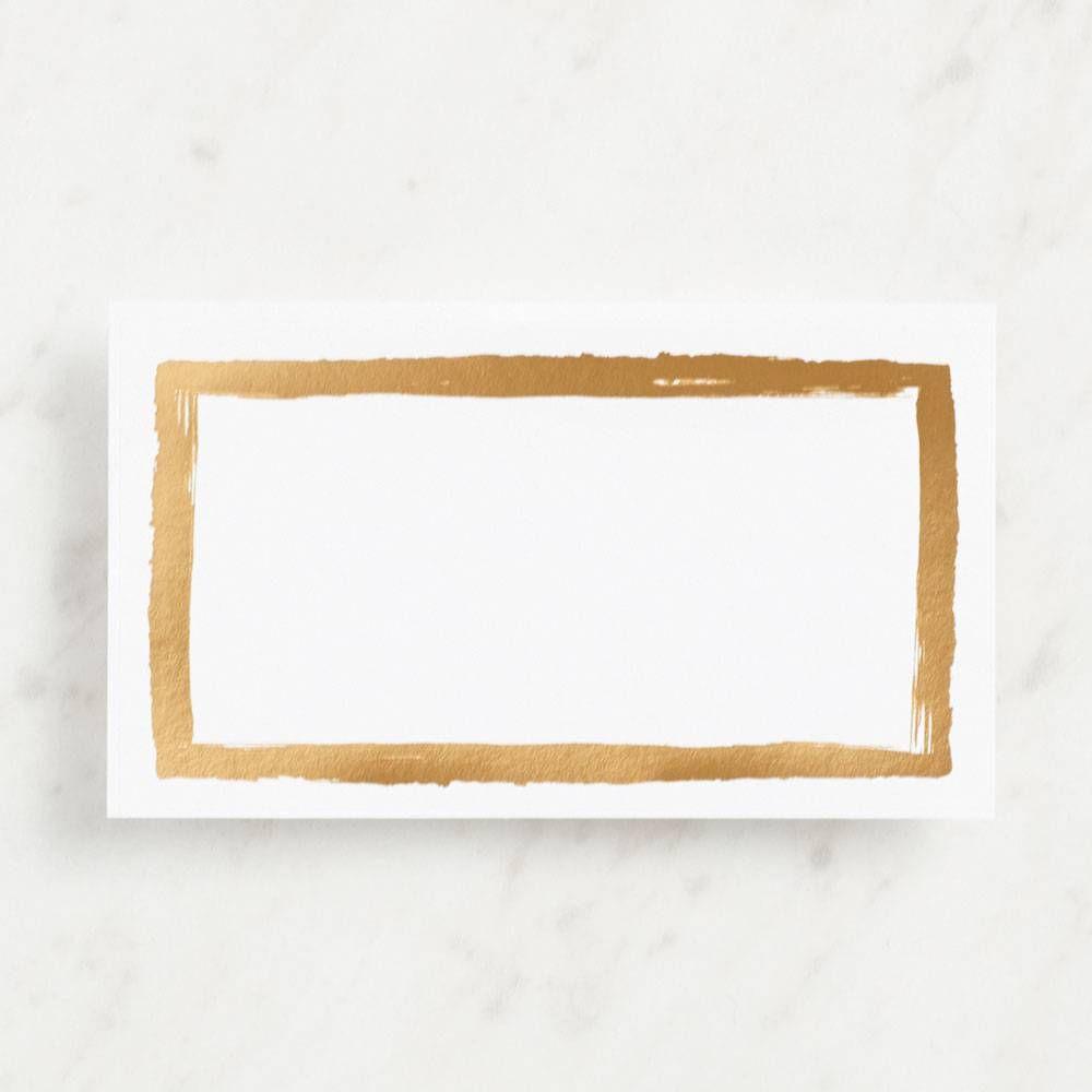 Brush Border Labels Craft Paper Source Printable Invitation Templates Printable Invitations Label Paper