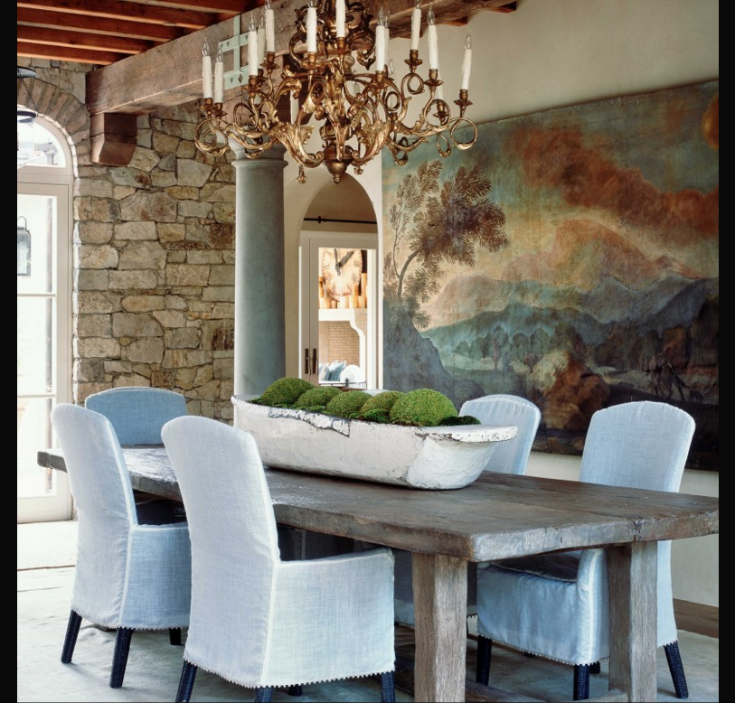 12 Rustic Dining Room Ideas: Dining Room Table Centerpieces
