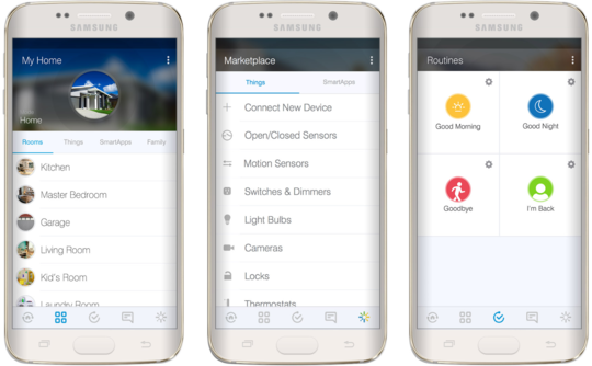 samsung smartthings app Google Search Motion sensors