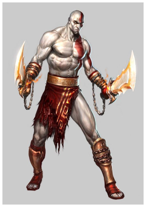 Kratos Remember This Drawing And Animation God Of War