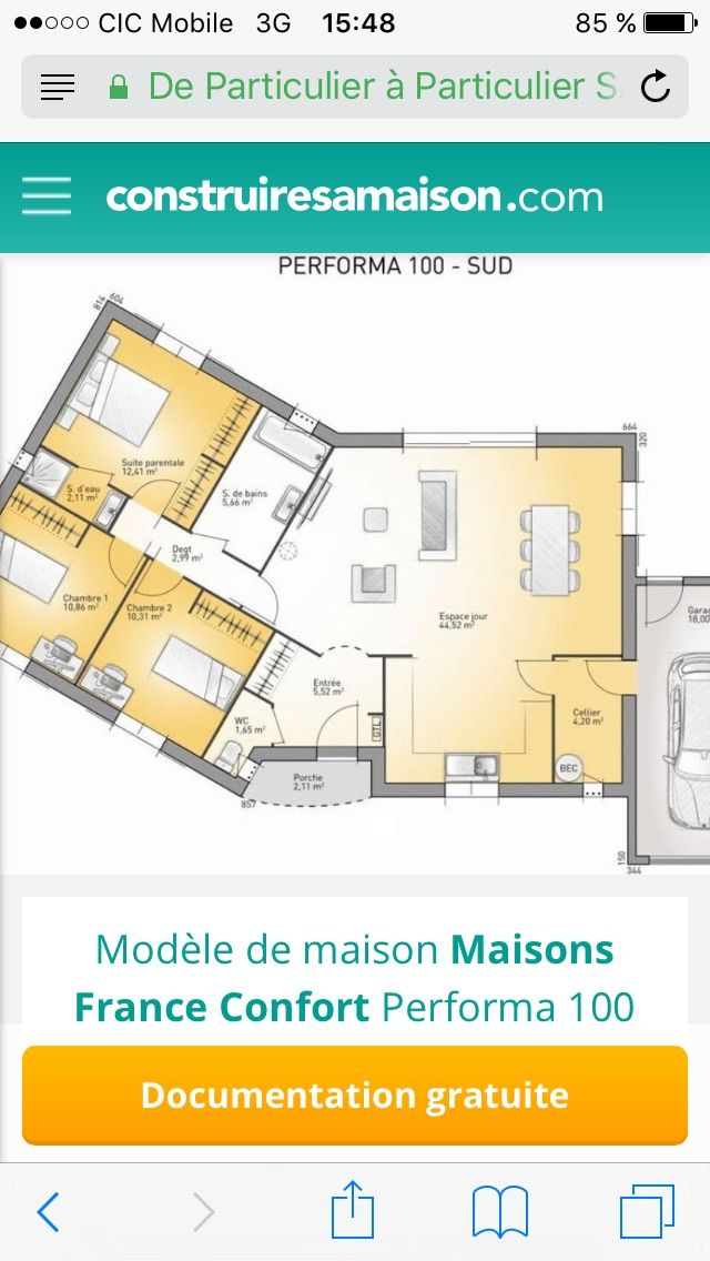 Pin by LISE SIMONELLI on Maisons Pinterest - construire sa maison gratuit
