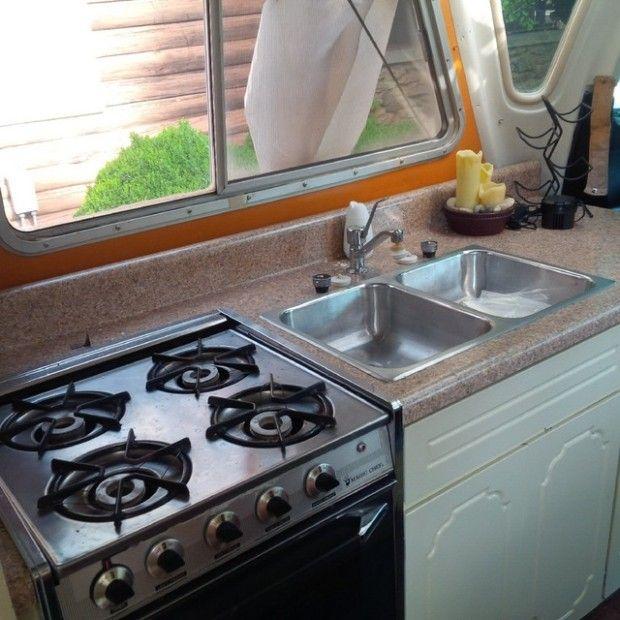 Larry Shinoda Design: $3500 1973 Rectrans Discoverer Camper
