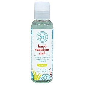 Honest Co Hand Sanitizer Gel 2oz No Tray Sanitizes And