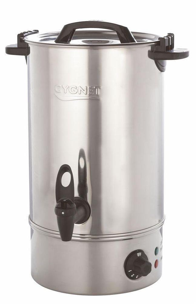Burco Cygnet 10l Small Catering Hot Water Boiler Tea Urn