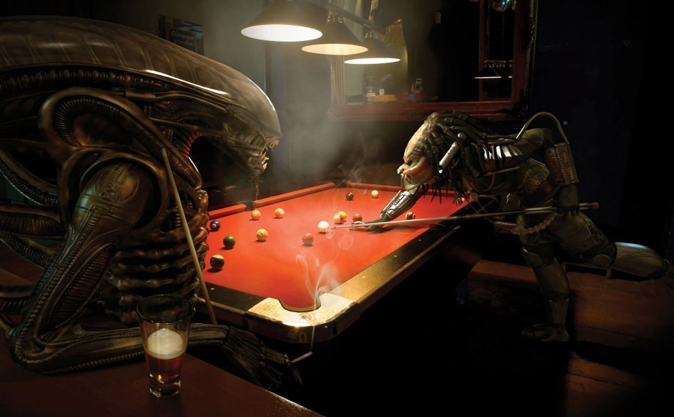 Alien Vs Predator Pool HD Wallpaper