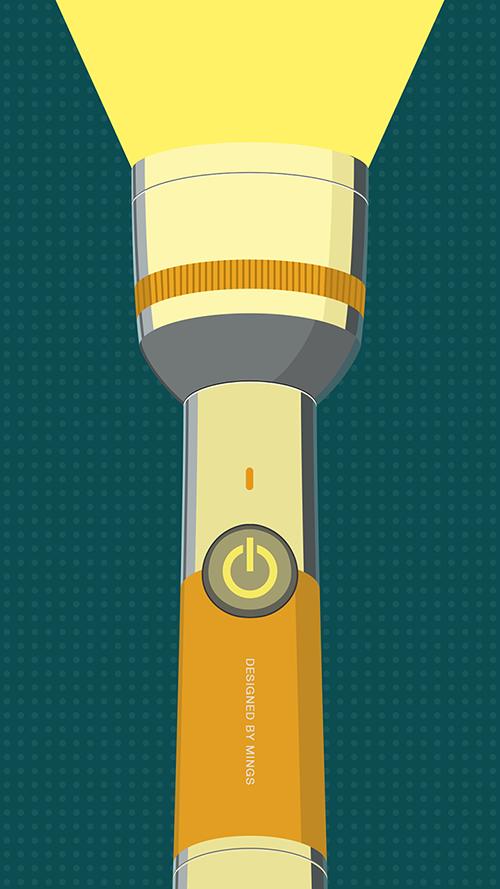 Flashlight App Design On Behance App Design Design Flashlight