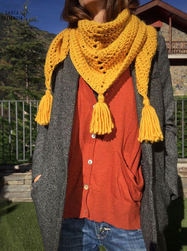 El chal de lana que estabas esperando   SANTA PAZIENZIA   bufandas A ...