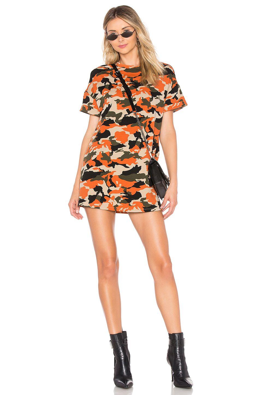 by the way. Clara Camo Dress in Orange Camo Camo dress