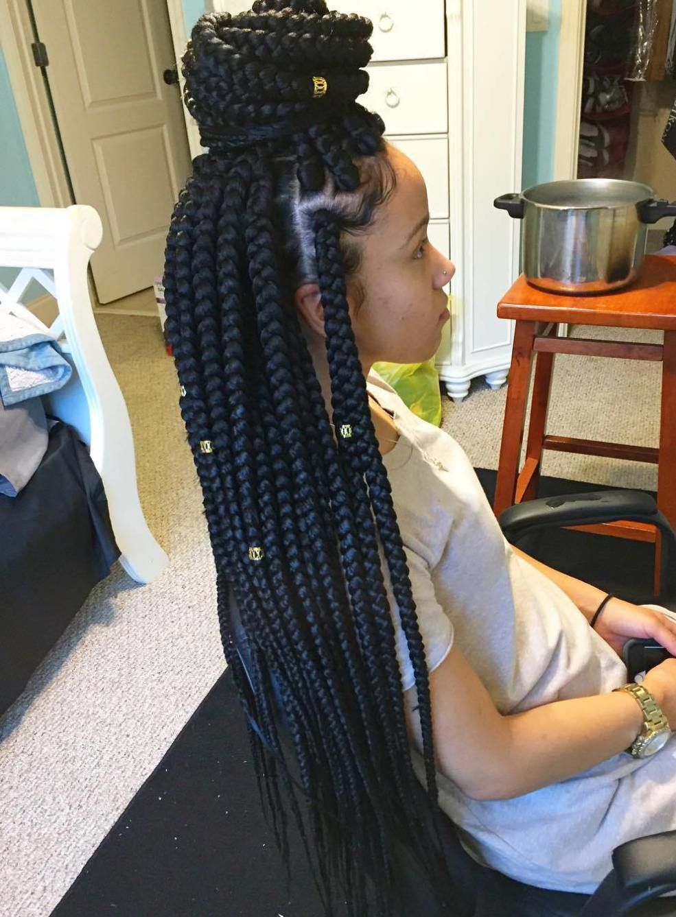 How to braids wear over 40 photos