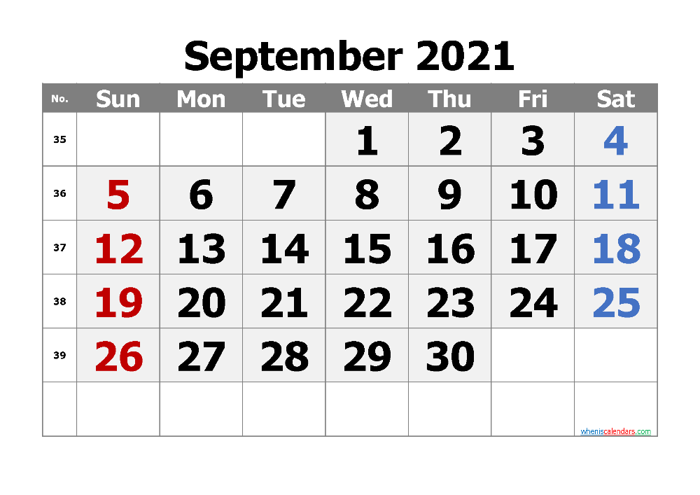 Free Printable Calendar September 2021 2022 And 2023 Monthly Calendar Printable Calendar Printables Printable Calendar