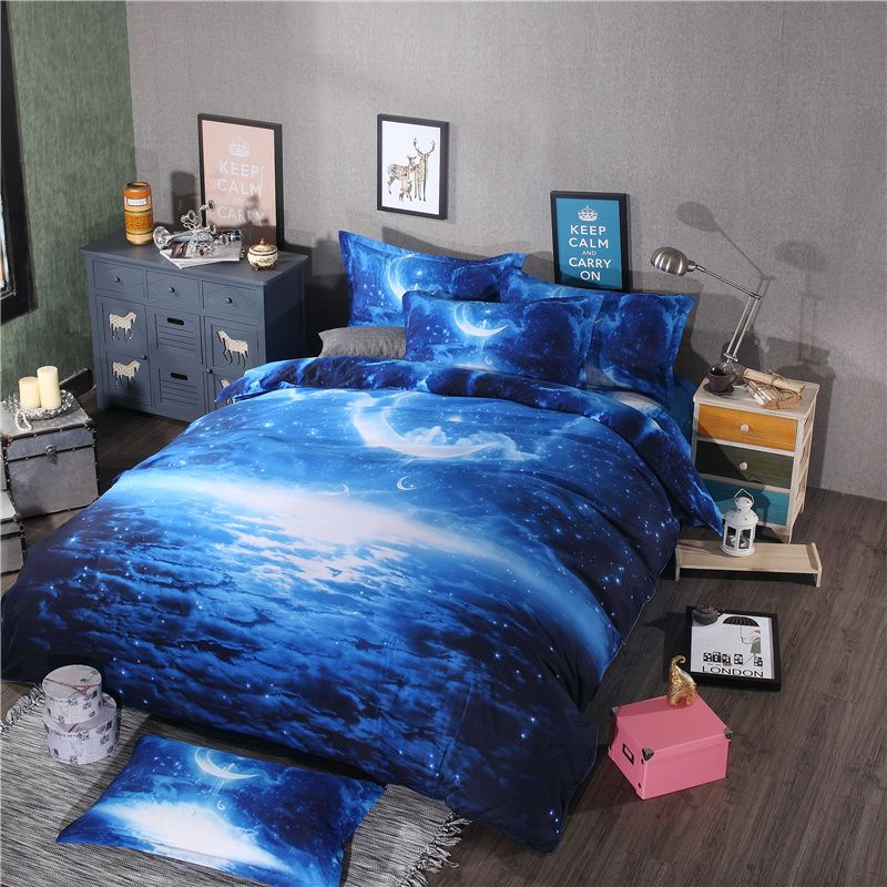 Like And Share If You Want This Hot Modern Galaxy Bedding Sets Universe Outer
