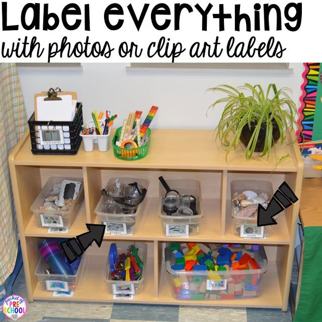 how to set up a kindergarten classroom