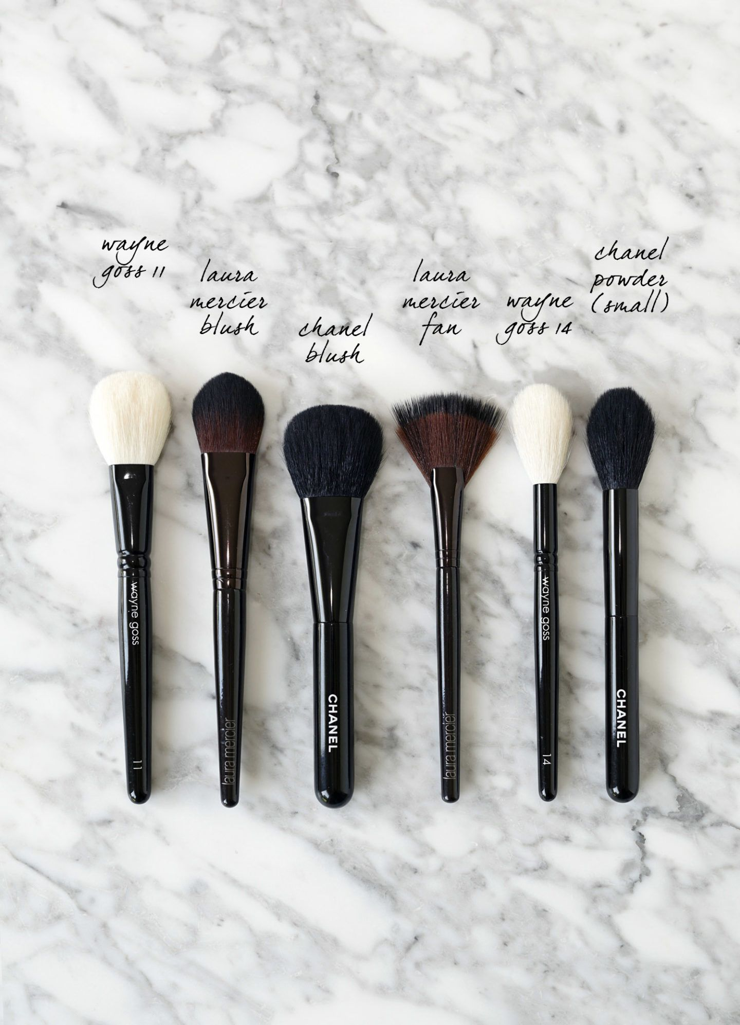Top Makeup Brushes for the Face + Cheeks The Beauty Look