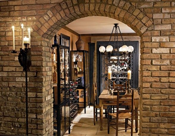 Delightful Love The Light Over The Table | Wine Cellar | Pinterest | Dining .
