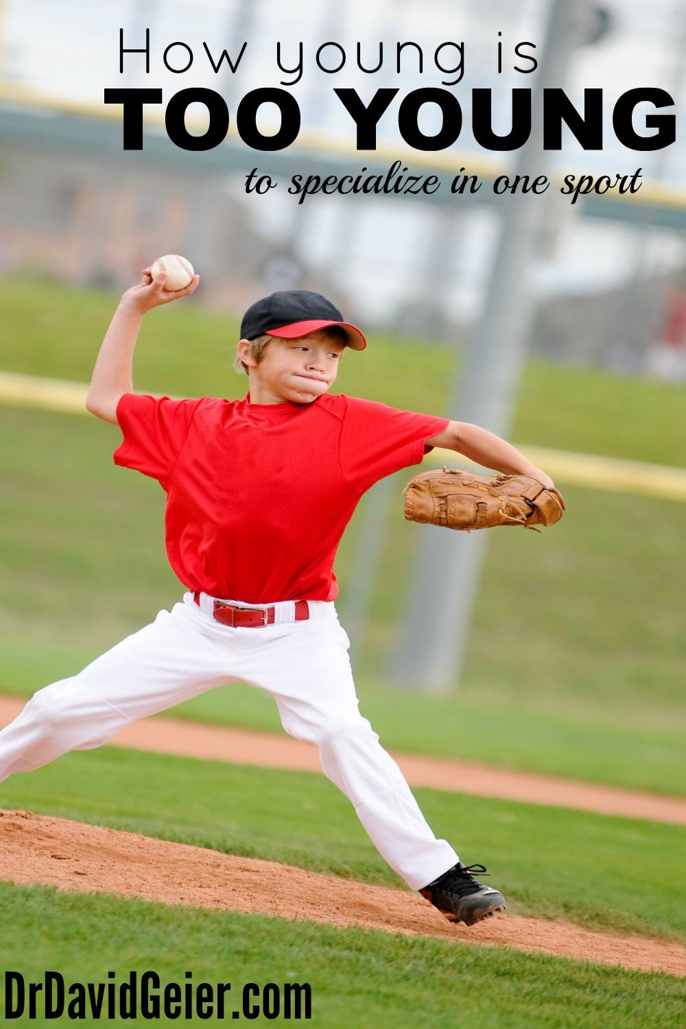How young is too young to specialize in one sport