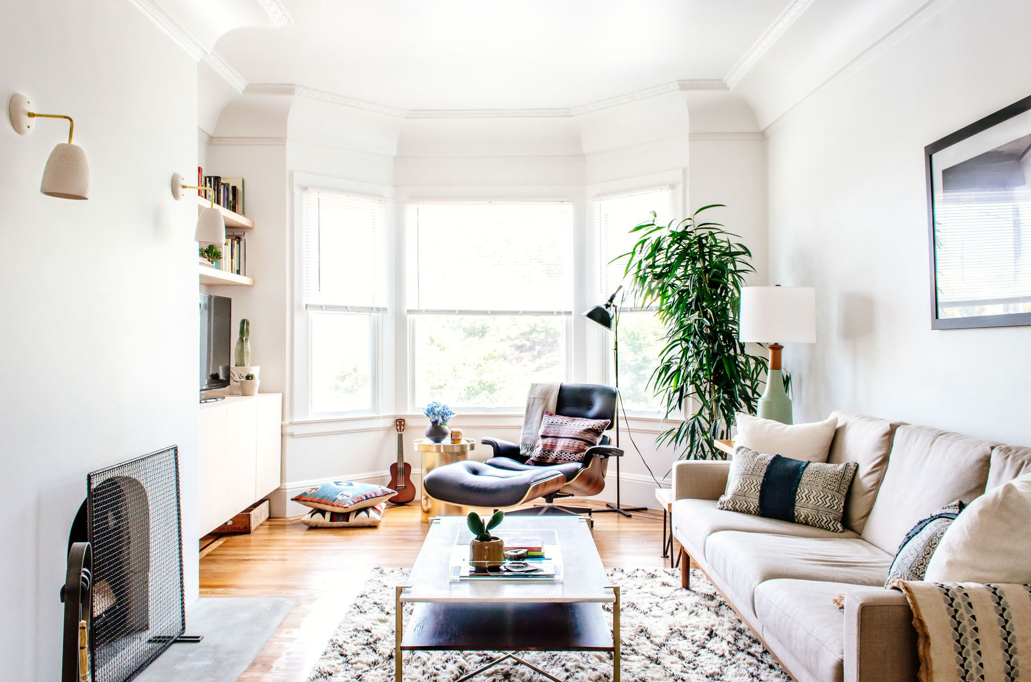 A Cozy and Modern San Francisco Home | Living room designs ...