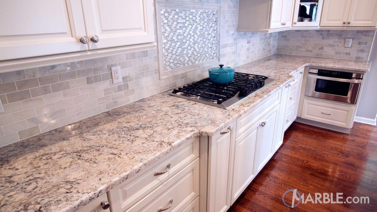 Snow White Granite Kitchen Countertop White Granite Kitchen