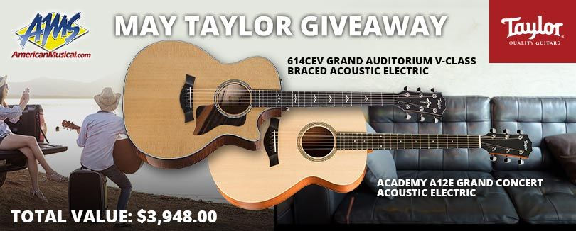 Acoustic guitar giveaway 2018