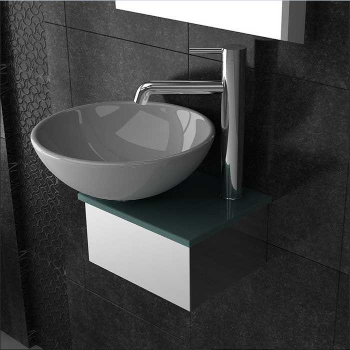 Bildergebnis für gäste waschbecken Bad Pinterest - badezimmerschrank mit waschbecken