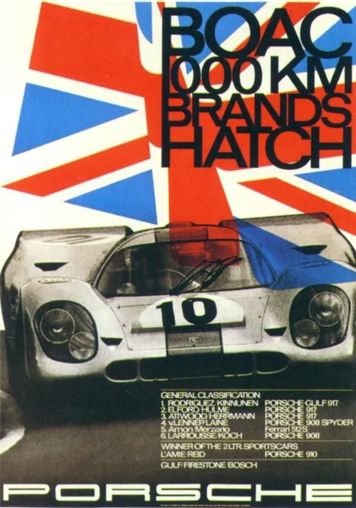 Photo of Vintage racing poster