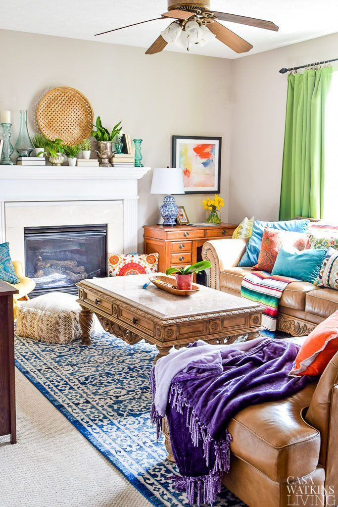 Photo of Spring Global Style Home Tour – Casa Watkins Living