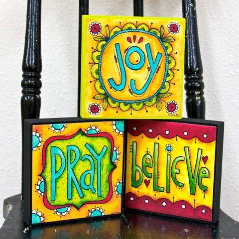 HOPE Art Block Christian Inspirational by karladornacher | fonts ...