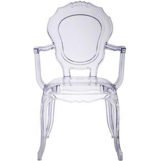$72.50 - sears. add a white fur chair pad. homelala clear - modern