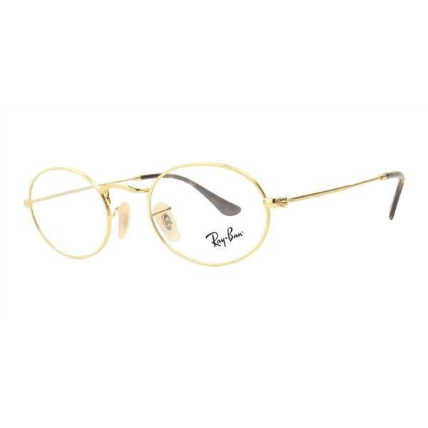 d50ff2a2391 ... australia ray ban unisex rb3547v gold clear lens glasses 155 liked on  db063 8551f
