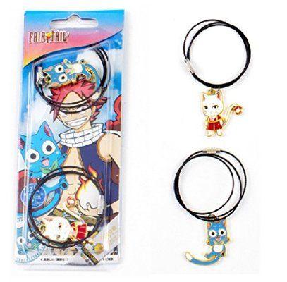 Senzans Fairy Tail feliz y Sharuru Collar