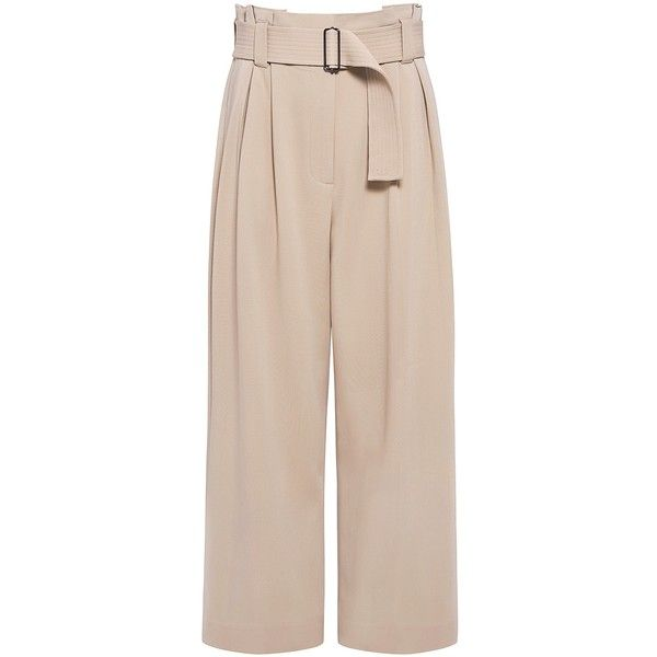 A.l.c. - Dillion Gaucho Pants ($425) ❤ liked on Polyvore featuring pants, capris, bottoms, trousers, pink pants, gaucho pants, a.l.c. pants and pink trousers